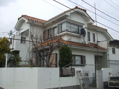 藤沢市 外壁塗装 工事前
