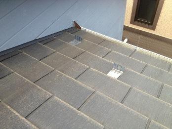 藤沢市 屋根塗装 工事前1