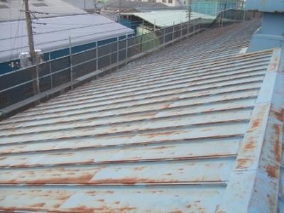綾瀬市 屋根塗装�A