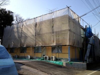 厚木市 外壁塗装�@
