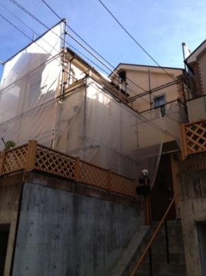 横浜市 戸塚区 外壁塗装�@