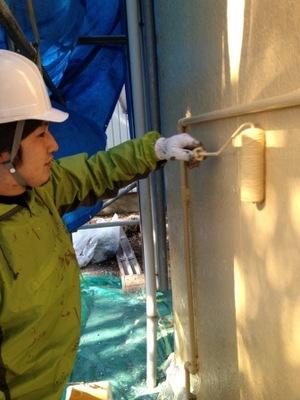 厚木市 外壁塗装�C