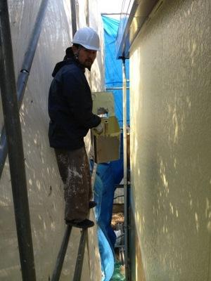 厚木市 外壁塗装�D