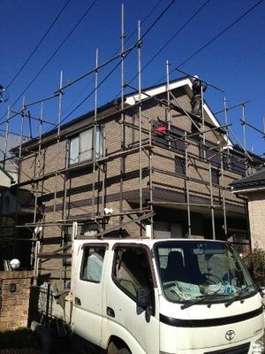 横浜市 瀬谷区 外壁塗装�E