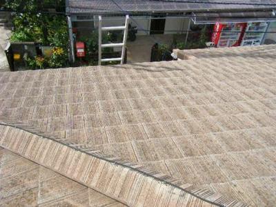 瀬谷区 屋根塗装 モニエル瓦�B