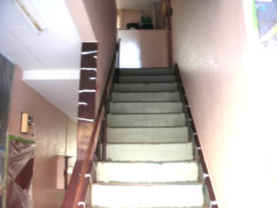 階段室塗装