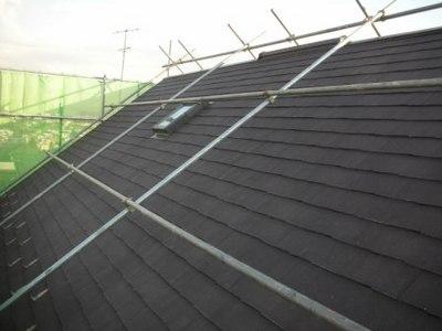 屋根塗装専用の足場