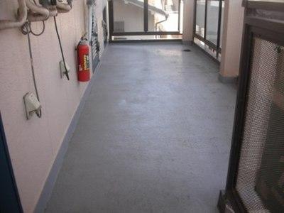 共用廊下 FRP防水