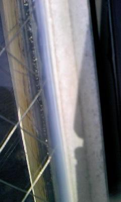 窓枠シール補修