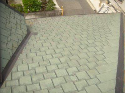 屋根塗装前�A