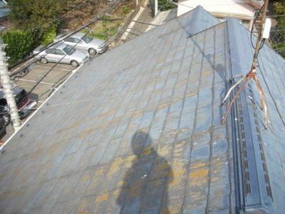 屋根塗装 前