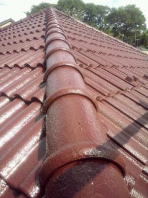 屋根塗装 仕上げ